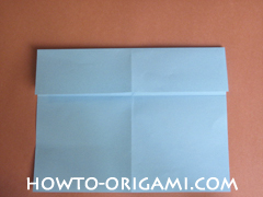 Wallet origami - How to make wallet origami instruction 6 - Kids origami