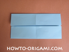 Wallet origami - How to make wallet origami instruction 7 - Kids origami
