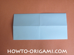 Wallet origami - How to make wallet origami instruction 9 - Kids origami
