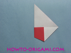 Boat origami - how to origami Yacht instruction10