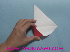 Boat origami - how to origami Yacht instruction11