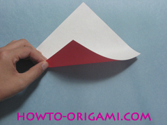 Boat origami - how to origami Yacht instruction1