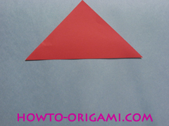 Boat origami - how to origami Yacht instruction2