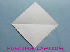 Boat origami - how to origami Yacht instruction3