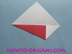 Boat origami - how to origami Yacht instruction4