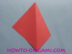 Boat origami - how to origami Yacht instruction6