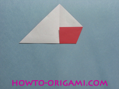 Boat origami - how to origami Yacht instruction8