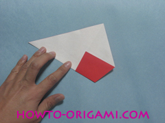 Boat origami - how to origami Yacht instruction9