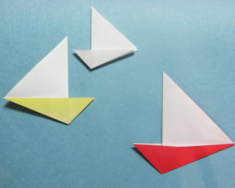 Boat origami - how to origami Yacht