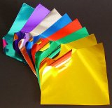 buy double sided foil origami paper