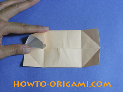 how to origami a pig instruction 12
