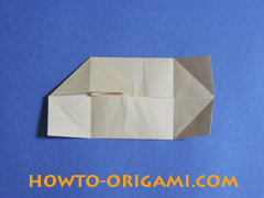how to origami a pig instruction 13