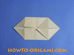 how to origami a pig instruction 14