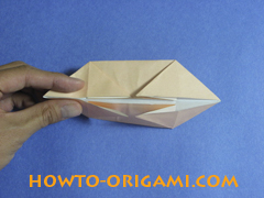 how to origami a pig instruction 15