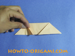 how to origami a pig instruction 17