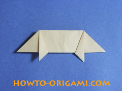 how to origami a pig instruction 19