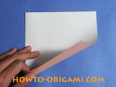 how to origami a pig instruction 1