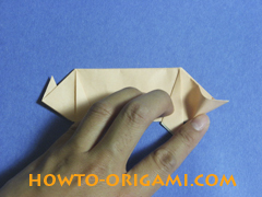 how to origami a pig instruction 22