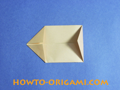 how to origami a pig instruction 8