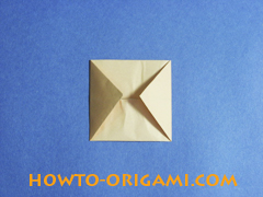 how to origami a pig instruction 9
