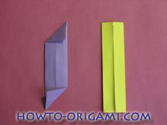Star origami instruction 10