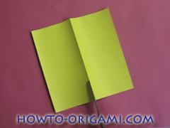 Star origami instruction 2