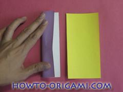 Star origami instruction 4
