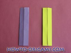 Star origami instruction 9