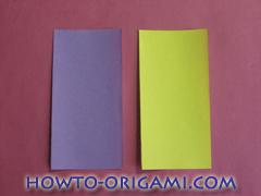 Star origami instruction 3