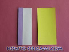 Star origami instruction 7