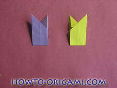 Star origami instruction 12