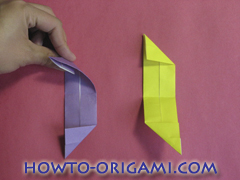 Star origami instruction 14