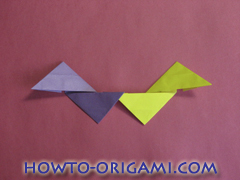 Star origami instruction 18