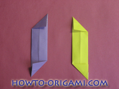 Star origami instruction 11