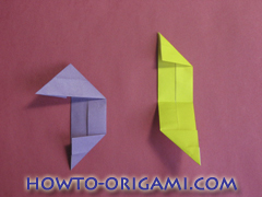 Star origami instruction 15