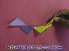 Star origami instruction 19