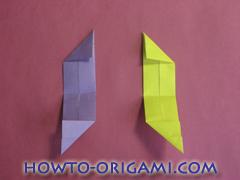 Star origami instruction 13