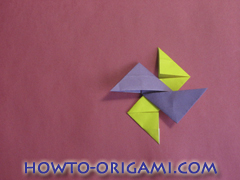 Star origami instruction 3
