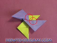 Star origami instruction 4