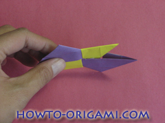 Star origami instruction 7