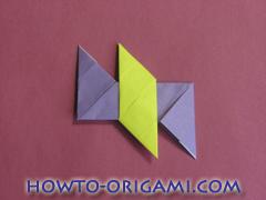 Star origami instruction 8