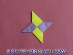Star origami instruction 11