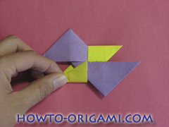 Star origami instruction 5