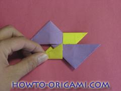 Star origami instruction 5