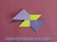 Star origami instruction 6