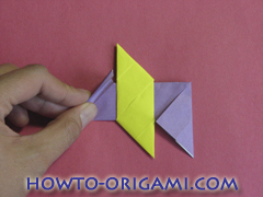 Star origami instruction 9