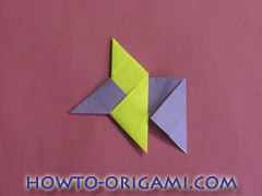 Star origami instruction 10